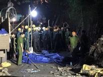Bục túi nước trong hầm lò, 3 công nhân bị vùi lấp