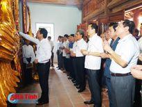 Khánh thành công trình tôn tạo đền thờ La Sơn phu tử Nguyễn Thiếp