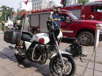 Cận cảnh xe cứu hỏa hiện đại nhất thế giới ở Hà Nội