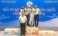 Kiếm thủ Như Hoa vô địch kiếm 3 cạnh cá nhân nữ 2016