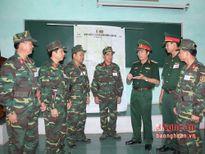Quân khu 4: Thi diễn tập chỉ huy, cơ quan Trung đoàn, Lữ đoàn