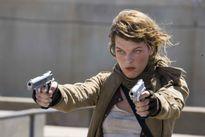 Milla Jovovich kể chuyện đóng phim săn xác sống cùng con