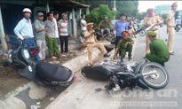 Quảng Nam: Hai xe máy tông nhau, 2 người thương nặng