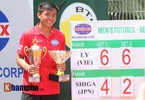 Vô địch Men's Futures, Hoàng Nam sẽ đại tiến 200 bậc