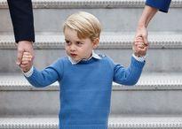Hoàng tử nhí nước Anh lém lỉnh, từ chối đập tay Thủ tướng Canada