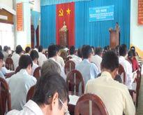 Tiền Giang: Tập huấn công tác bầu cử trưởng ấp, khu phố