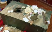 Hai tên trộm đục gần 90 két sắt bị bắt