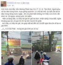 Người mẹ hớt hải lội nước ngập tìm con bị thất lạc trong trận mưa kinh hoàng ở Sài Gòn
