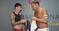 Messi, Usain Bolt chúc mừng sinh nhật huyền thoại Totti