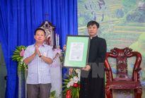 Công bố quyết định thành lập Giáo xứ đầu tiên tại tỉnh Điện Biên