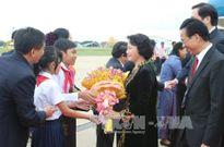 Chủ tịch Quốc hội gặp mặt người Việt tại Campuchia