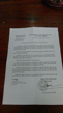 UBND huyện Kon Rẫy chỉ đạo nghiêm túc việc bán hồ sơ đấu thầu
