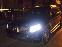 Tài xế Mercedes không biển bỏ chạy 3km bị phạt 21 triệu