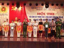 """Hội thi """"Nữ Cảnh sát PCCC, CNCH giỏi việc nước, đảm việc nhà"""""""