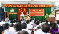Bộ trưởng Phùng Xuân Nhạ tiếp xúc cử tri tỉnh Bình Định trước kỳ họp thứ 2