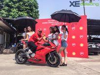 Dàn xe Ducati đỏ rực đường phố Hà Nội mừng sinh nhật D.O.C