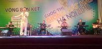 Giọng hát hay Hà Nội 2016: Nhiều thí sinh chọn phong cách nhạc bolero