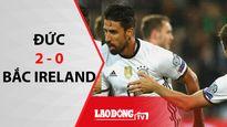 Đức thắng dễ Bắc Ireland 2 - 0 trên sân nhà
