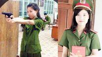 Nữ thủ khoa đầu ra trường Cảnh sát xinh đẹp và tài năng