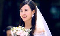 Midu diện áo cưới đẹp tựa thiên thần bước vào lễ đường