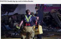 Cảm động bé 5 tuổi cố gắng kéo em trai ra khỏi xe tải bốc cháy