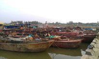 Thanh Hóa: Bắt 7 tàu khai thác cát trái phép trên sông Mã
