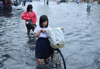 Cơn bão số 7: Quảng Ninh cho học sinh nghỉ học tránh bão
