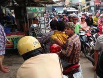 Tổ CSGT truy đuổi bắt tên trộm xe gắn máy