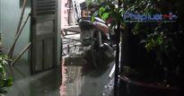 TP HCM: Triều cường kết hợp mưa lớn, nhiều khu vực ngập úng