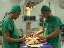 Phẫu thuật nang phổi bẩm sinh cho trẻ sơ sinh