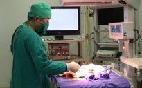 Cứu sống trẻ sơ sinh 5 ngày tuổi bị nang phổi bẩm sinh