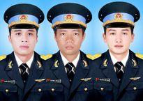 Máy bay mất tích ở Vũng Tàu: Lễ truy điệu 3 phi công vào ngày 21/10