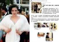 Lý Nhã Kỳ tràn ngập báo HongKong khi sánh bước bên sao TVB Xa Thi Mạn