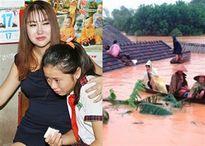 Vừa đóng học phí cho cô bé nghèo, Phi Thanh Vân bỏ ra 88 triệu cứu trợ miền Trung