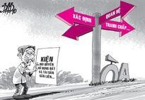 Kỳ Anh, Hà Tĩnh: Hơn 10 năm gõ cửa 'quan' đòi lại đất