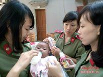 Bé gái 4 tháng tuổi bị bắt cóc được đưa vào trung tâm công tác xã hội Nghệ An