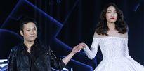 Hoa hậu Mỹ Linh làm vedette trong show thời trang của Chung Thanh Phong