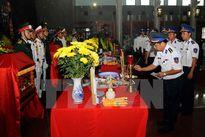 Lễ truy điệu 3 phi công hy sinh trong khi bay huấn luyện