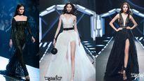 Dàn mẫu Next Top làm 'chao đảo'sàn diễn thời trang của Chung Thanh Phong