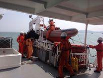 Phát hiện xác tàu HD 2155 ở độ sâu 13m, đang lặn tìm thuyền viên