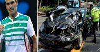 Trò đùa ác ý: Federer bị tai nạn nguy kịch