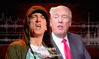 Eminem tung ca khúc mới đá xoáy Donald Trump