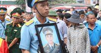 Hà Nam: Rơi nước mắt tiễn đưa người lính phi công về cõi vĩnh hằng