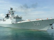Tàu Hải quân Trung Quốc thăm Cảng quốc tế Cam Ranh