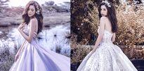 Elly Trần đẹp tựa 'nữ thần' trong các mẫu váy Lọ Lem