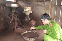 Phát hiện cơ sở chế biến cà phê từ đậu đậu nành và hóa chất ở Gia Lai