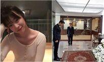 Sao Hàn 23/10: Sulli lại 'thả rông' ngực, Si Won viếng vua Thái Lan