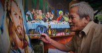 Ông lão đầu bạc và nét cọ nơi góc ngã tư Sài Gòn suốt 60 năm
