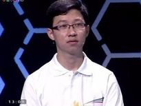 Nhật Minh giành 100 điểm tại phần thi Khởi động