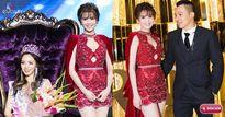 Ngọc Trinh nổi bật trên trên thảm đỏ ở Hàn Quốc